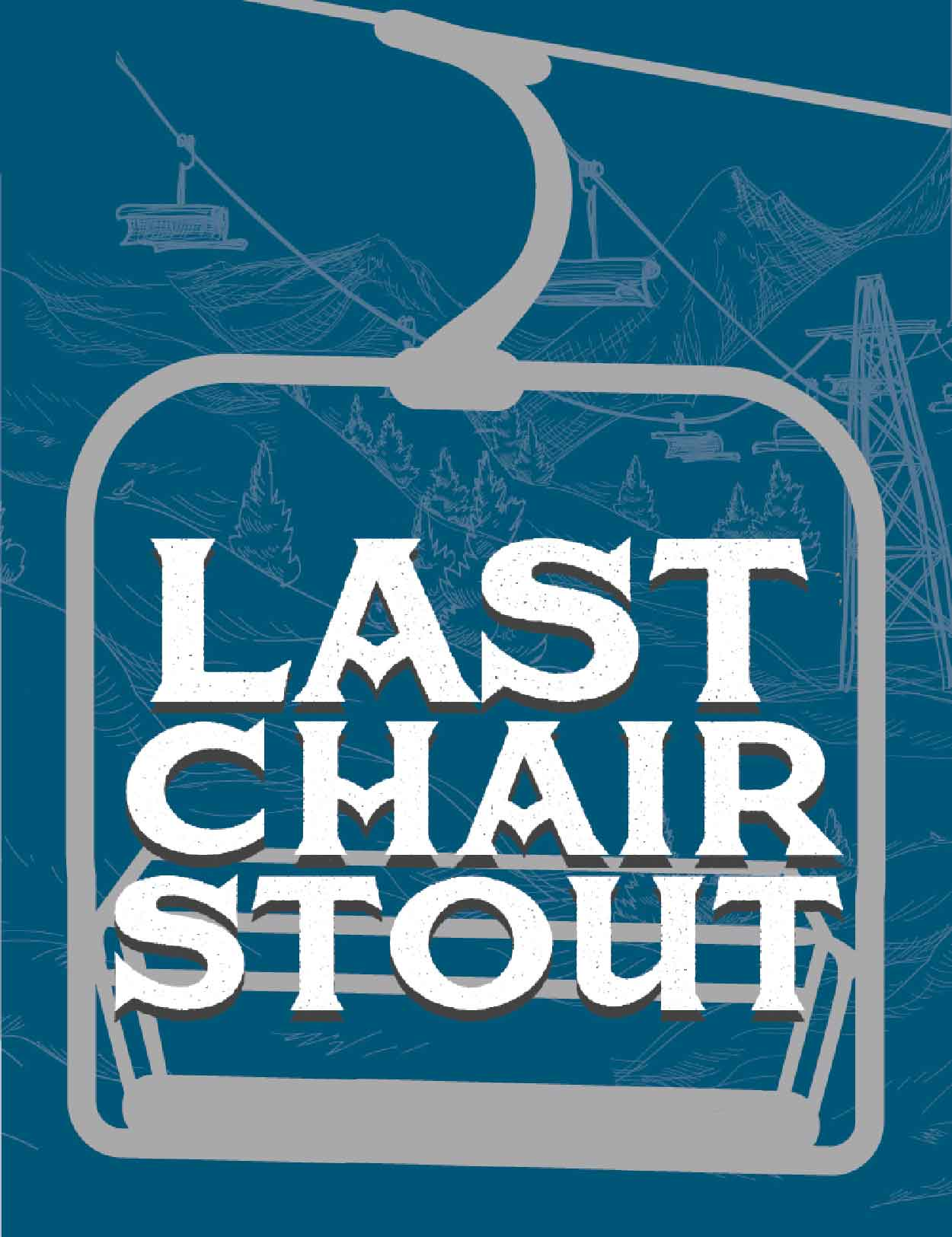 Last Chair Stout_Tap Handle