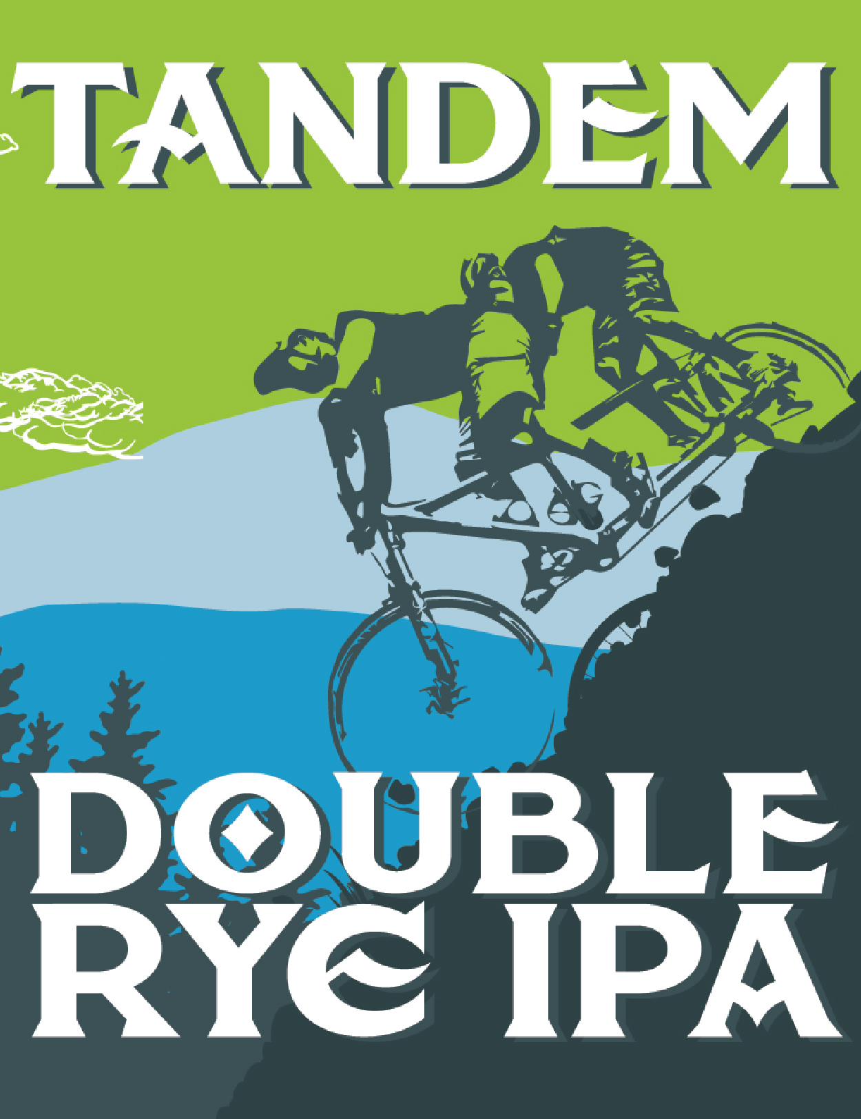 Tandem Wall Sign_Tap Handle