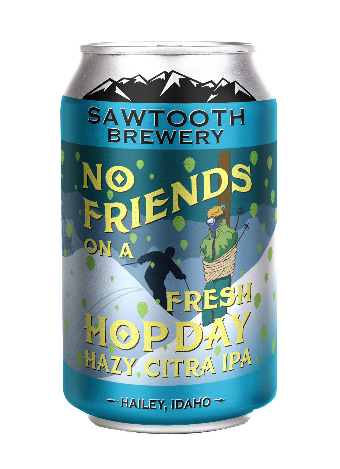 No Friends on a Fresh Hop Day Hazy Citra IPA