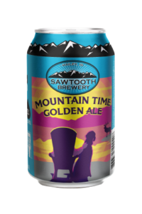 Mountain Time Golden Ale Can