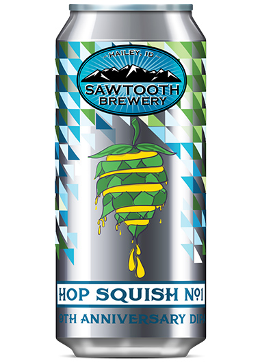 Hop Squish 9th Anniversary Beer Can